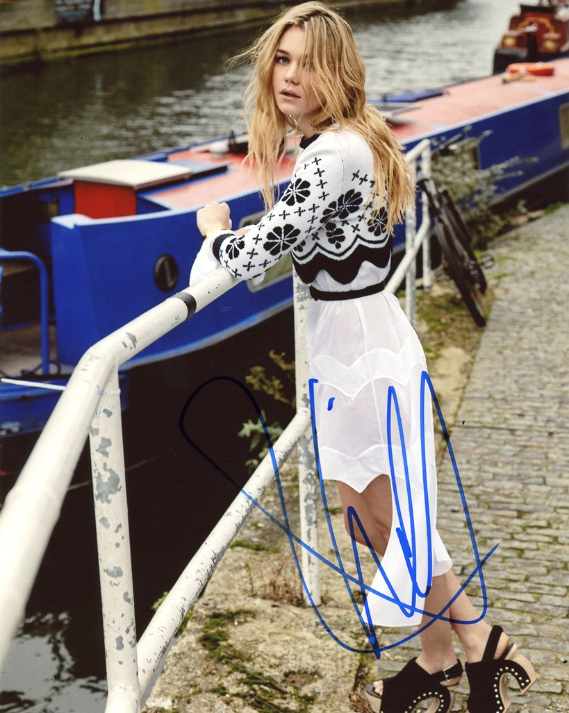 Imogen Waterhouse Signed Photo