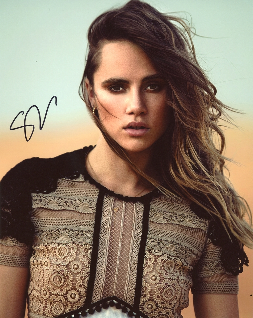 Suki Waterhouse Signed Photo