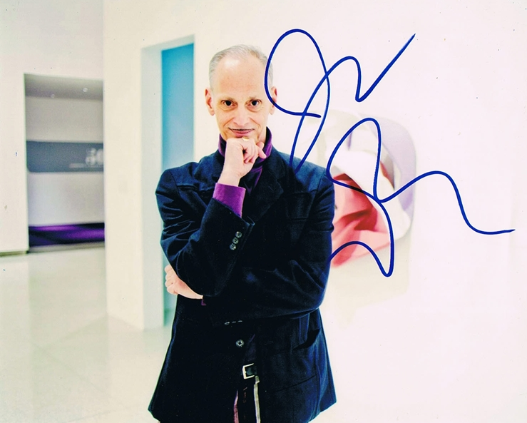 John Waters Signed Photo