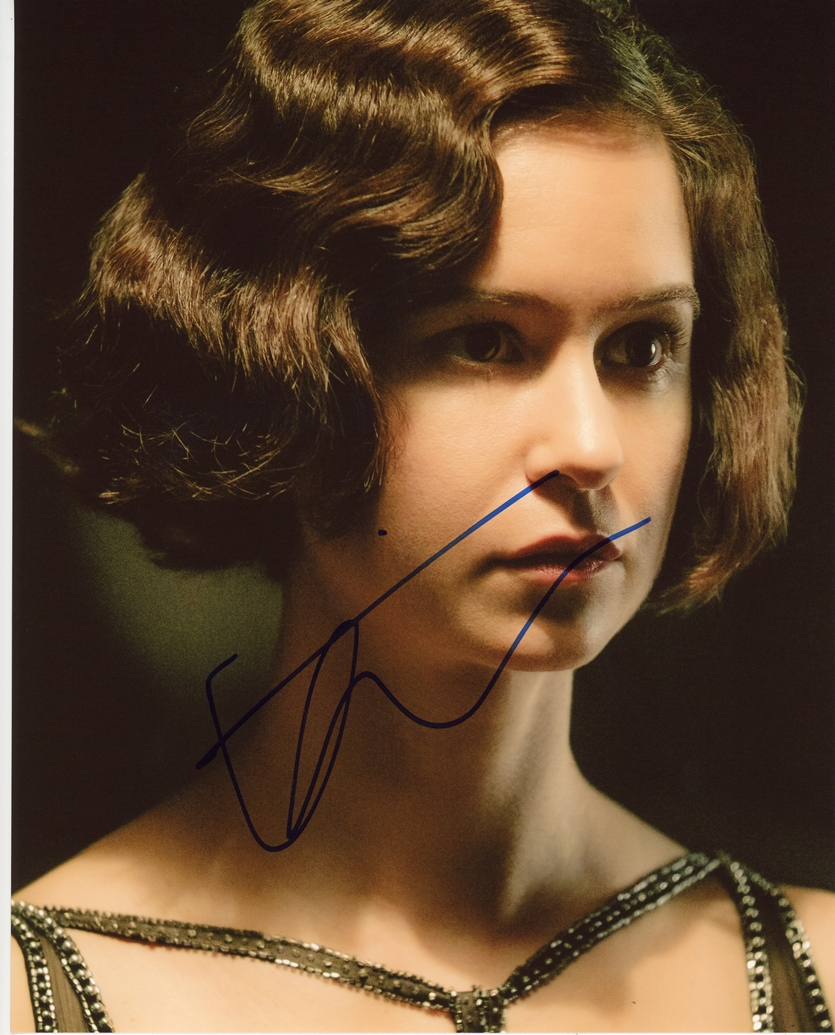 Katherine Waterston Signed Photo