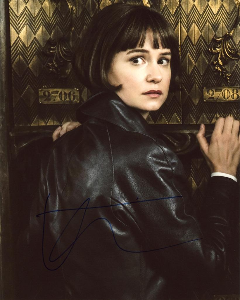 Katherine Waterston Signed Photo