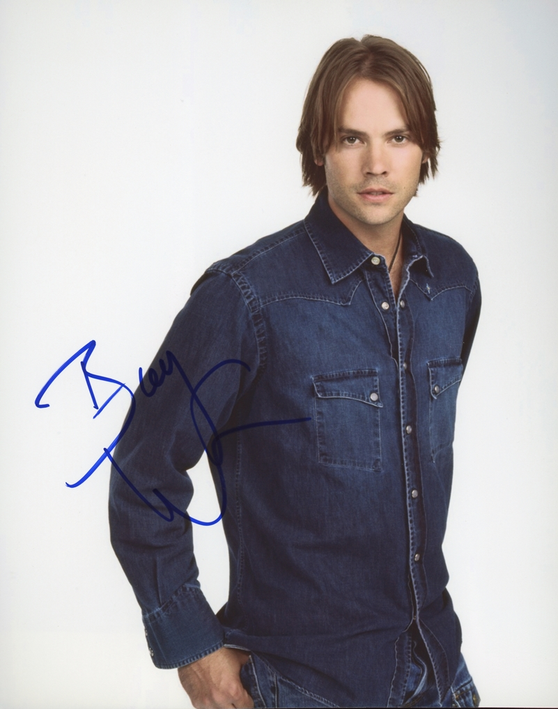 Barry Watson Signed Photo