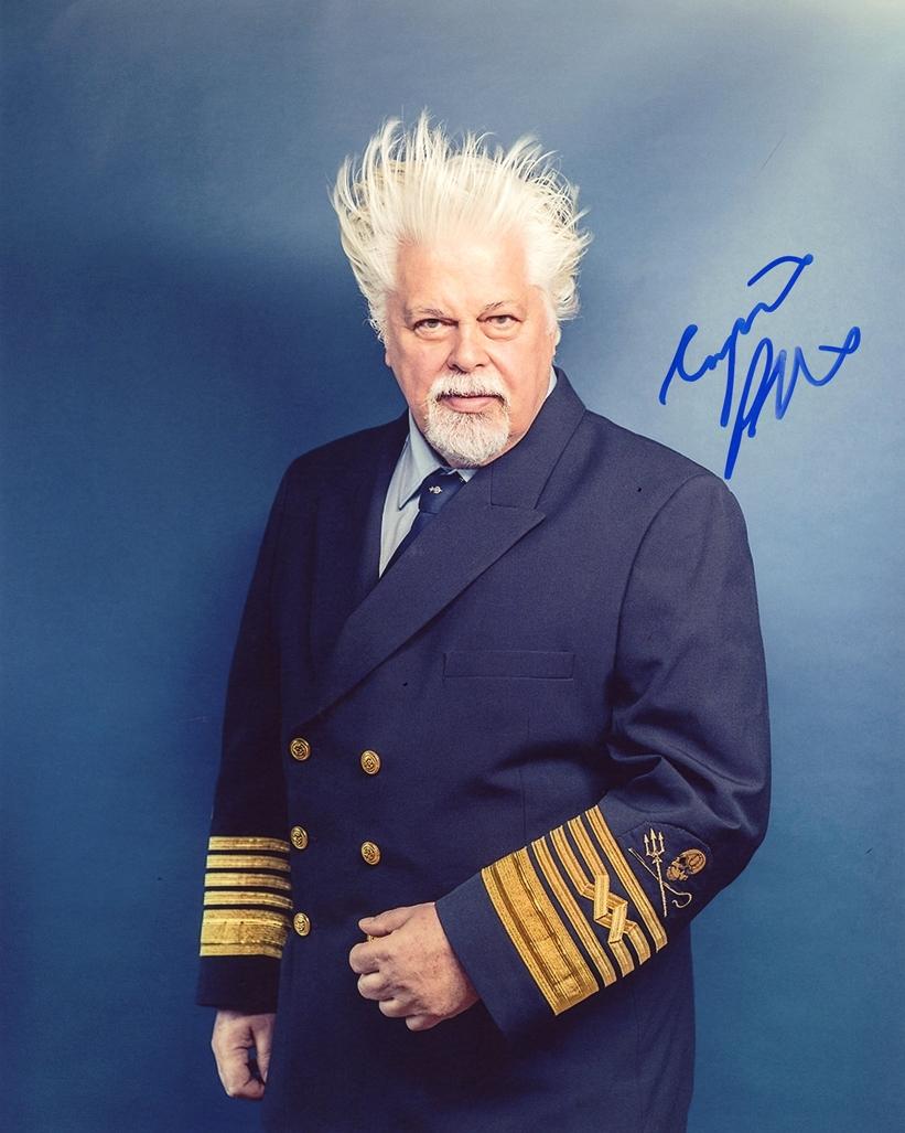 Paul Watson Signed Photo