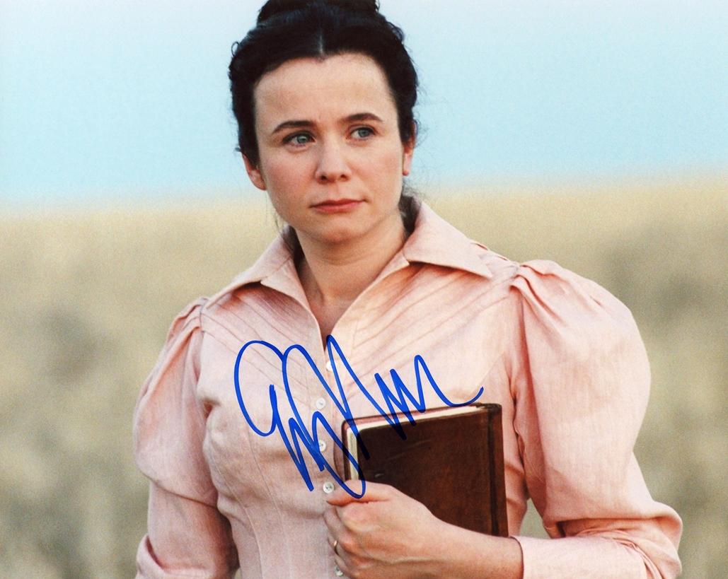 Emily Watson Signed Photo
