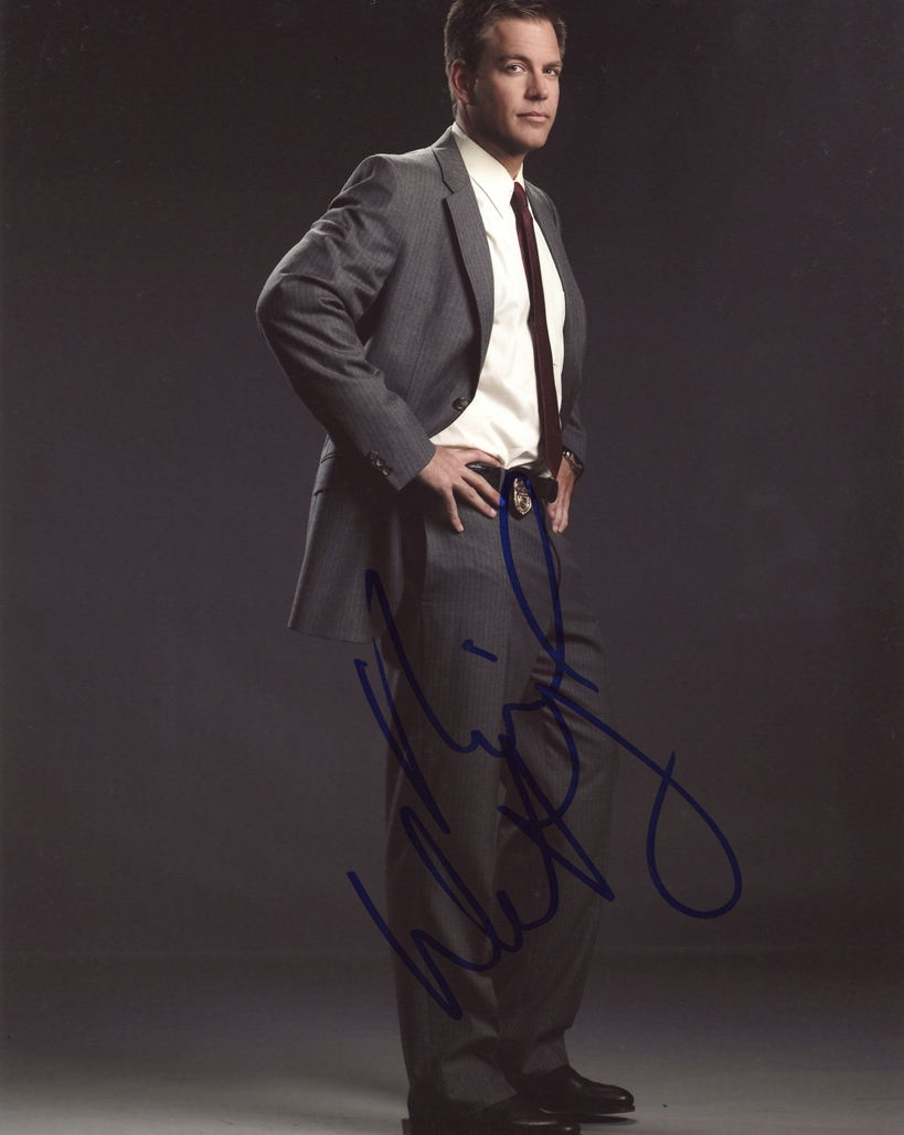 Michael Weatherly Signed Photo