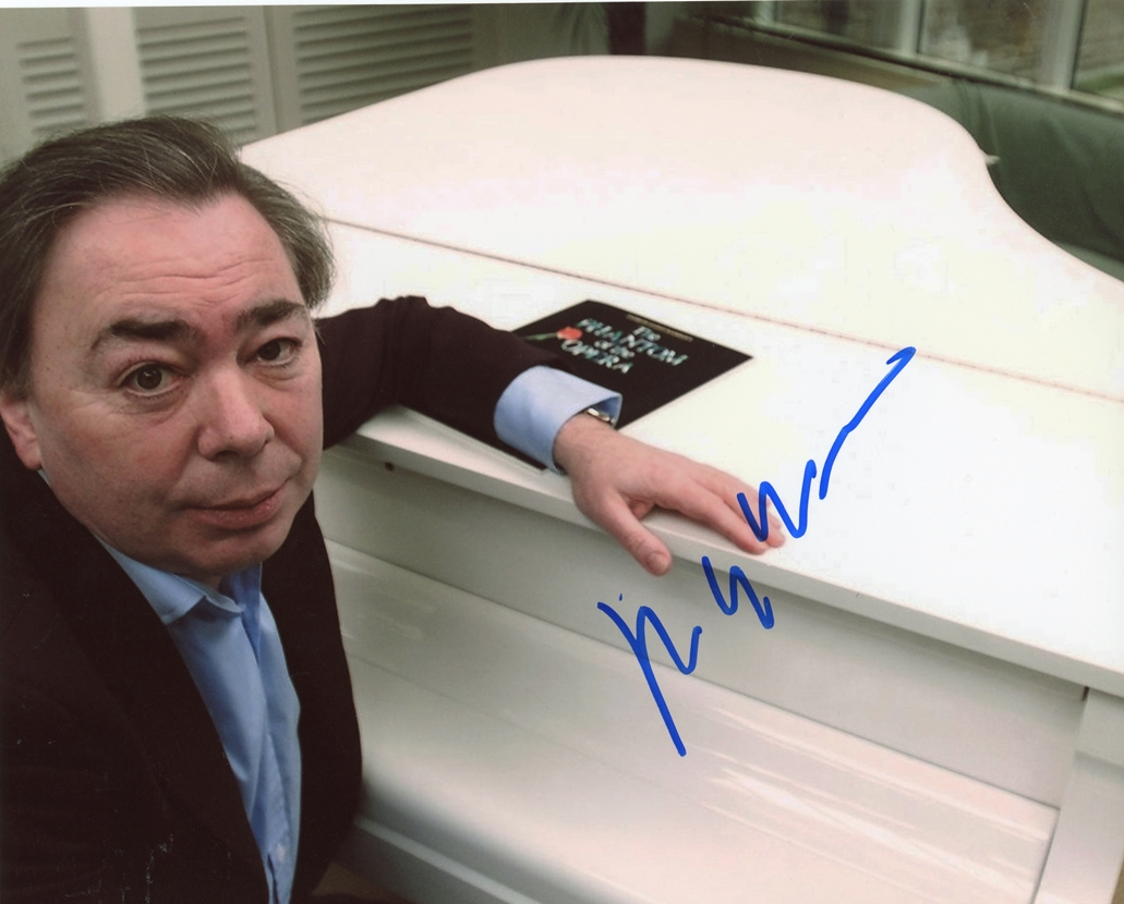 Andrew Lloyd Webber Signed Photo