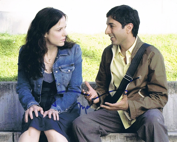 Mary Louise Parker & Maulik Pancholy Signed Photo