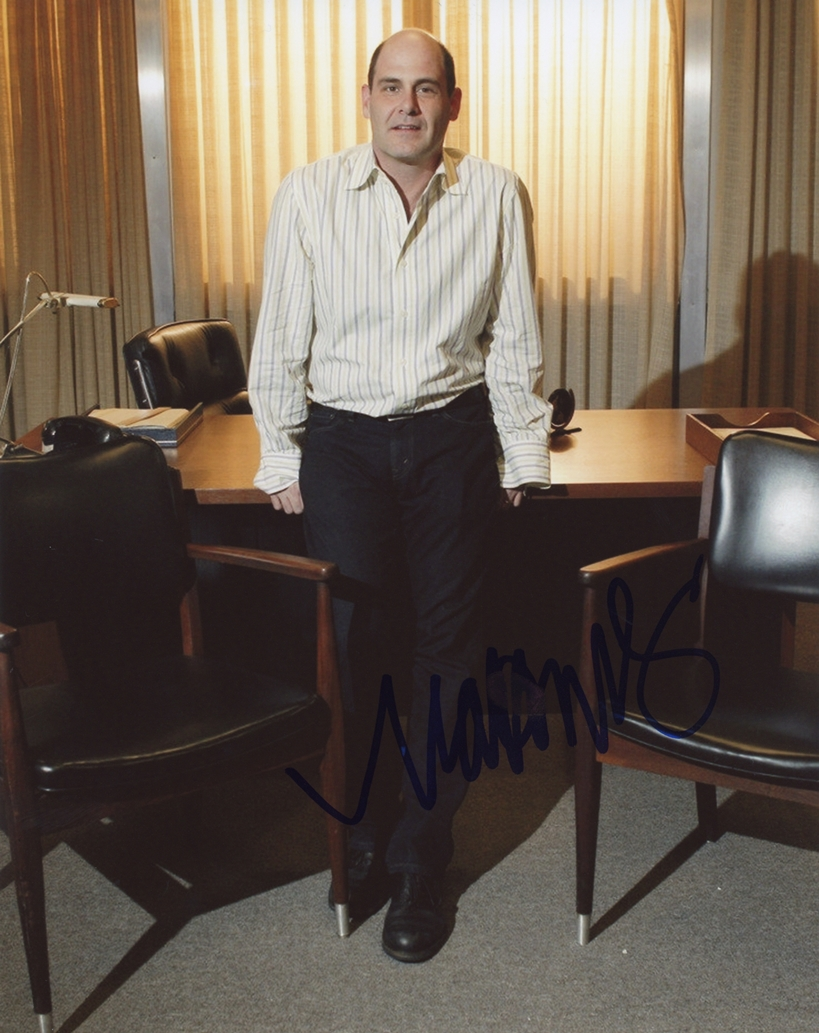 Matthew Weiner Signed Photo