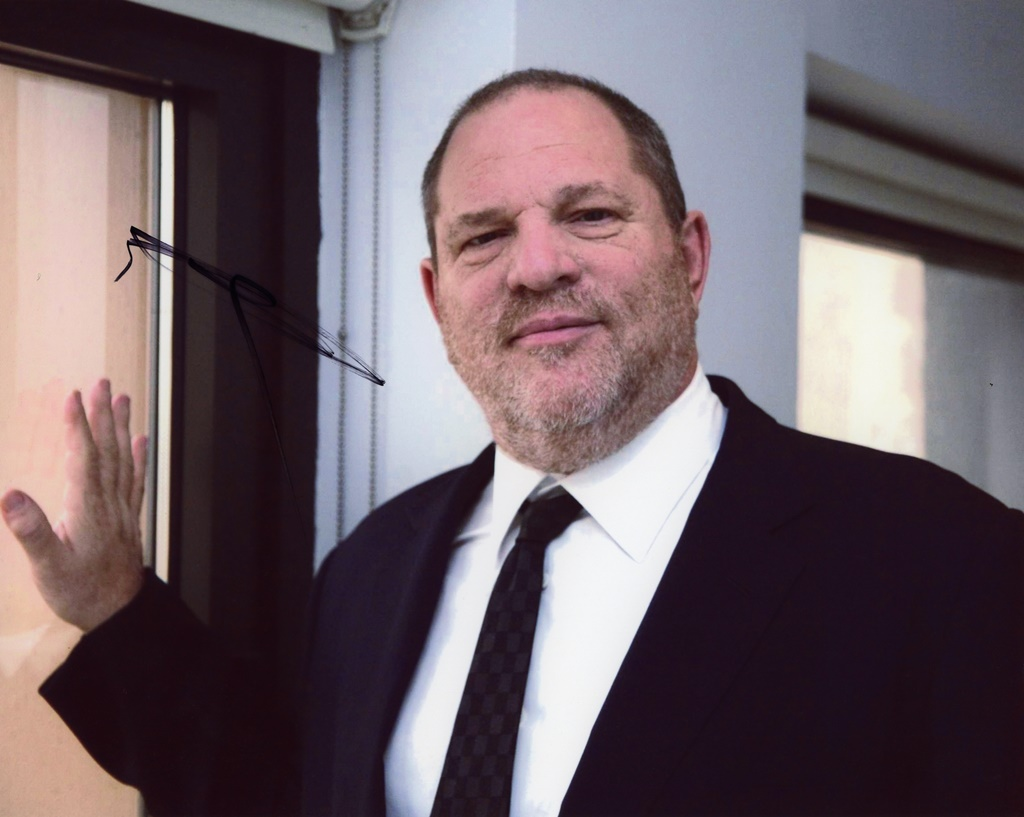 Harvey Weinstein Signed Photo