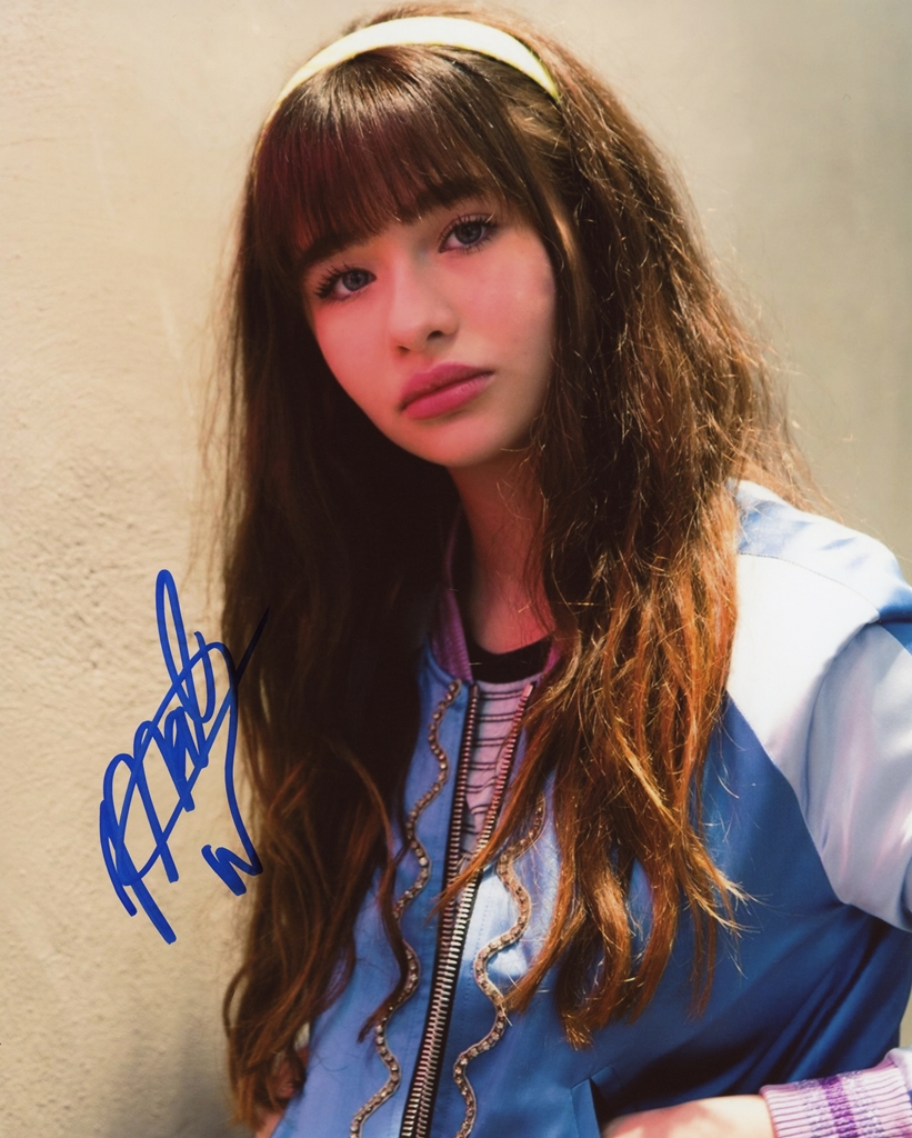 Malina Weissman Signed Photo