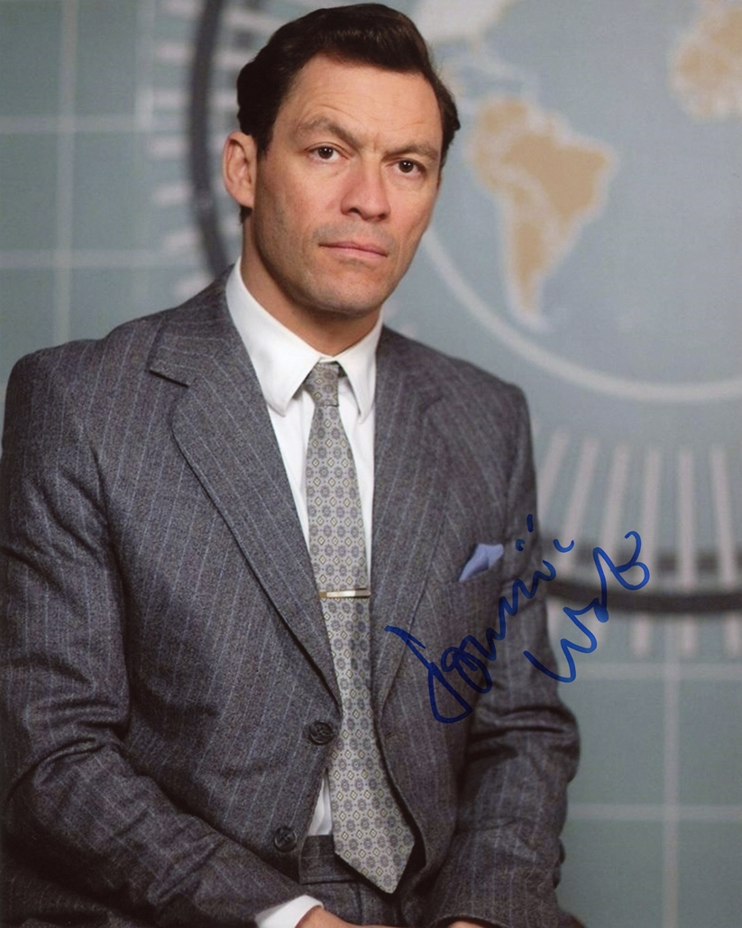 Dominic West Signed Photo