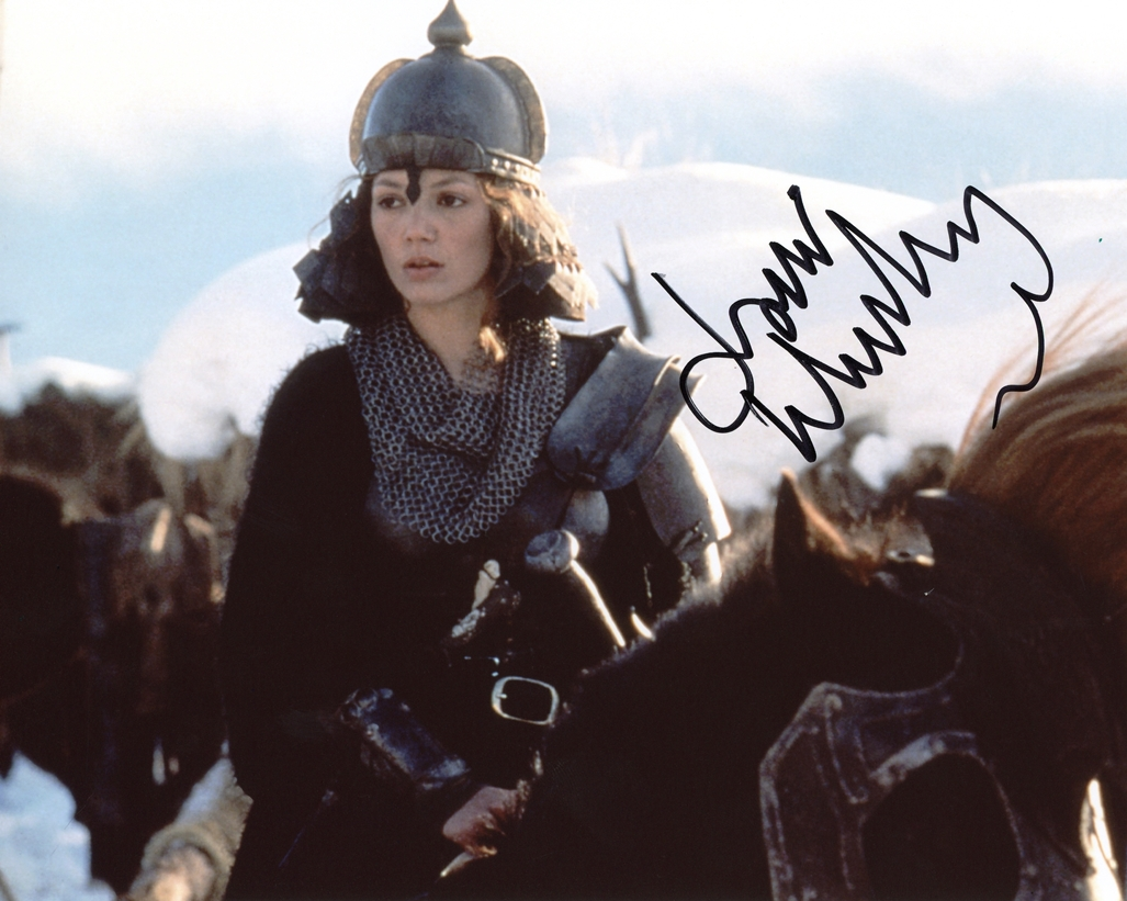 Joanne Whalley Signed Photo