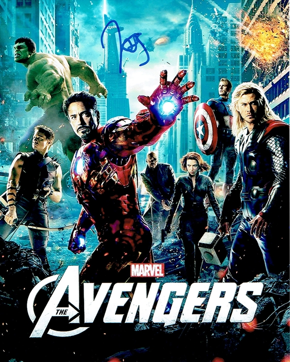 Joss Whedon Signed Photo