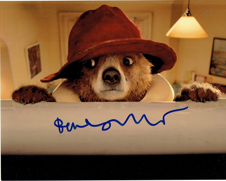 Ben Whishaw Signed Photo