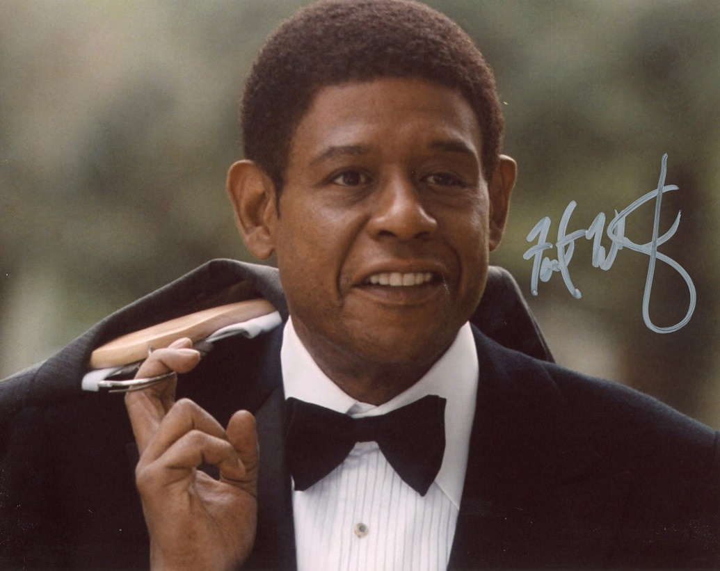 Forest Whitaker Signed Photo