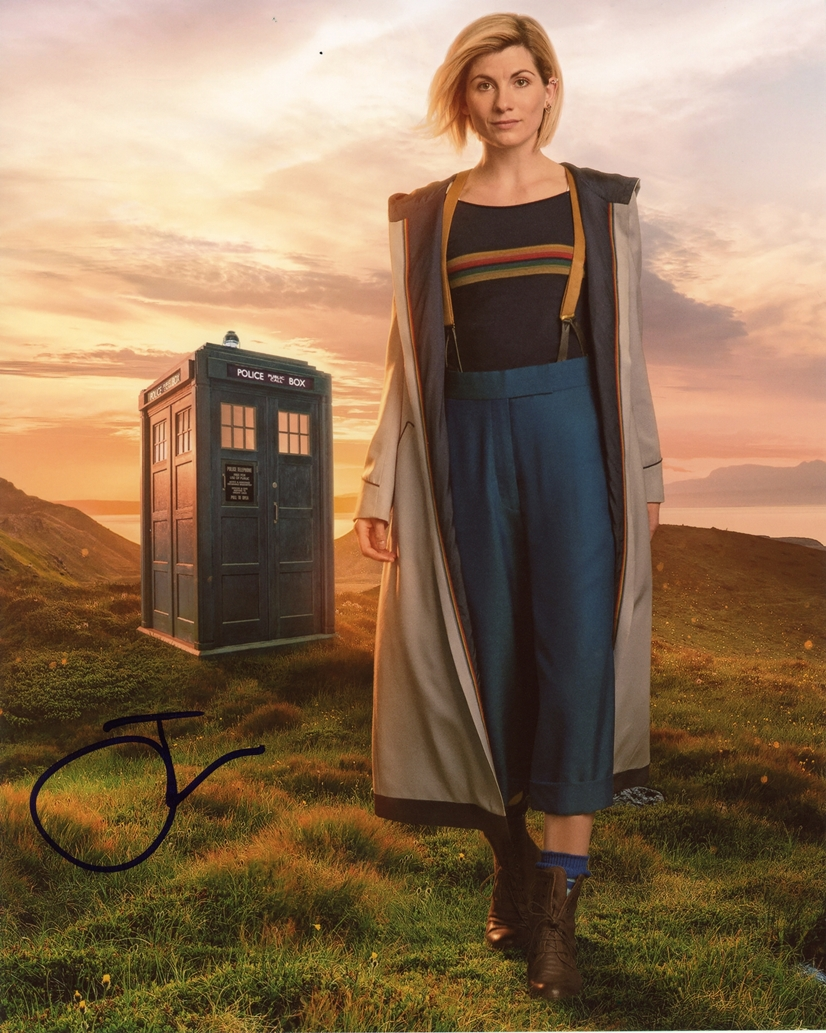 Jodie Whittaker Signed Photo