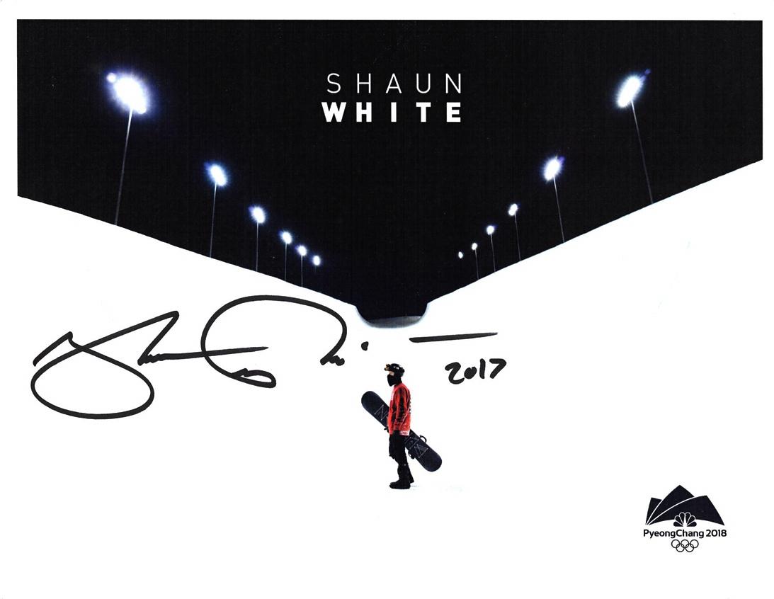 Shaun White Signed Photo