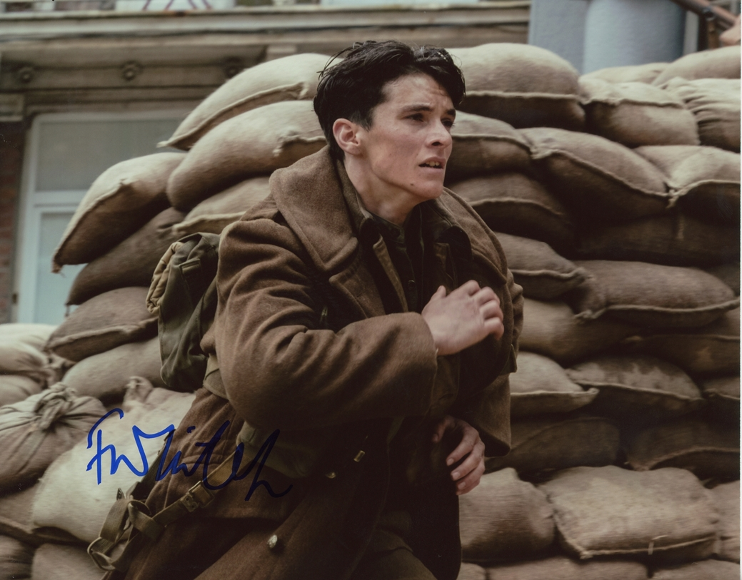 Fionn Whitehead Signed Photo