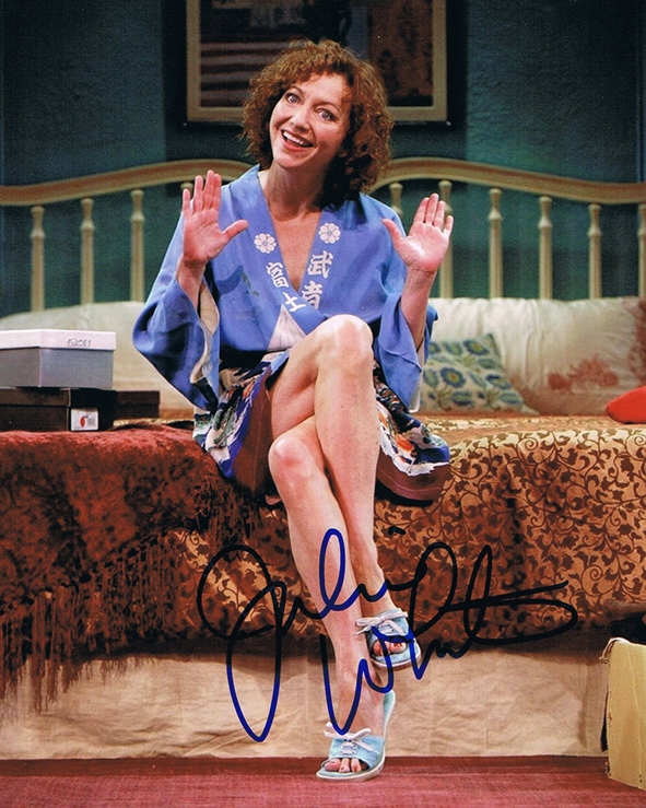 Julie White Signed Photo