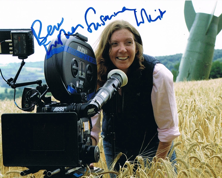 Susanna White Signed Photo