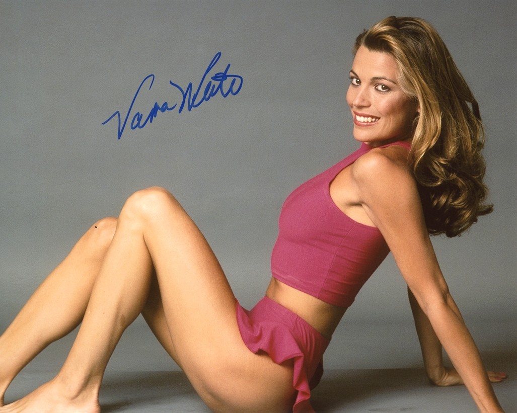 Vanna White Signed Photo
