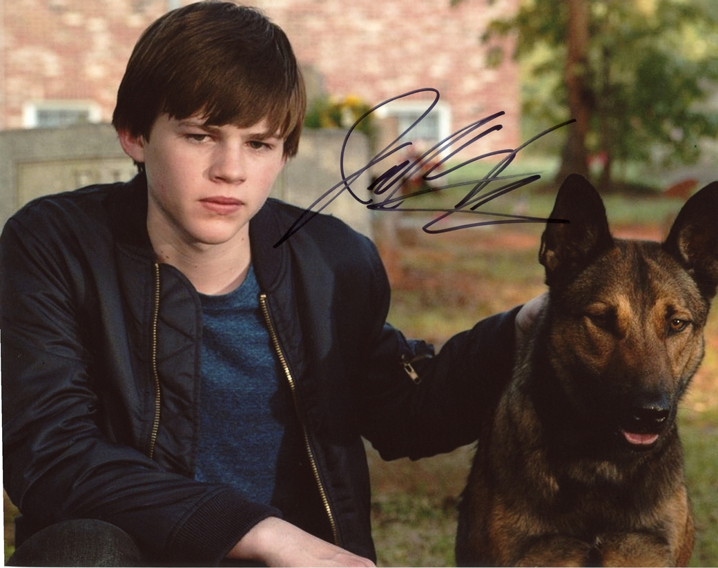 Josh Wiggins Signed Photo