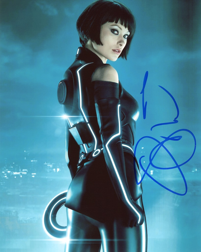 Olivia Wilde Signed Photo