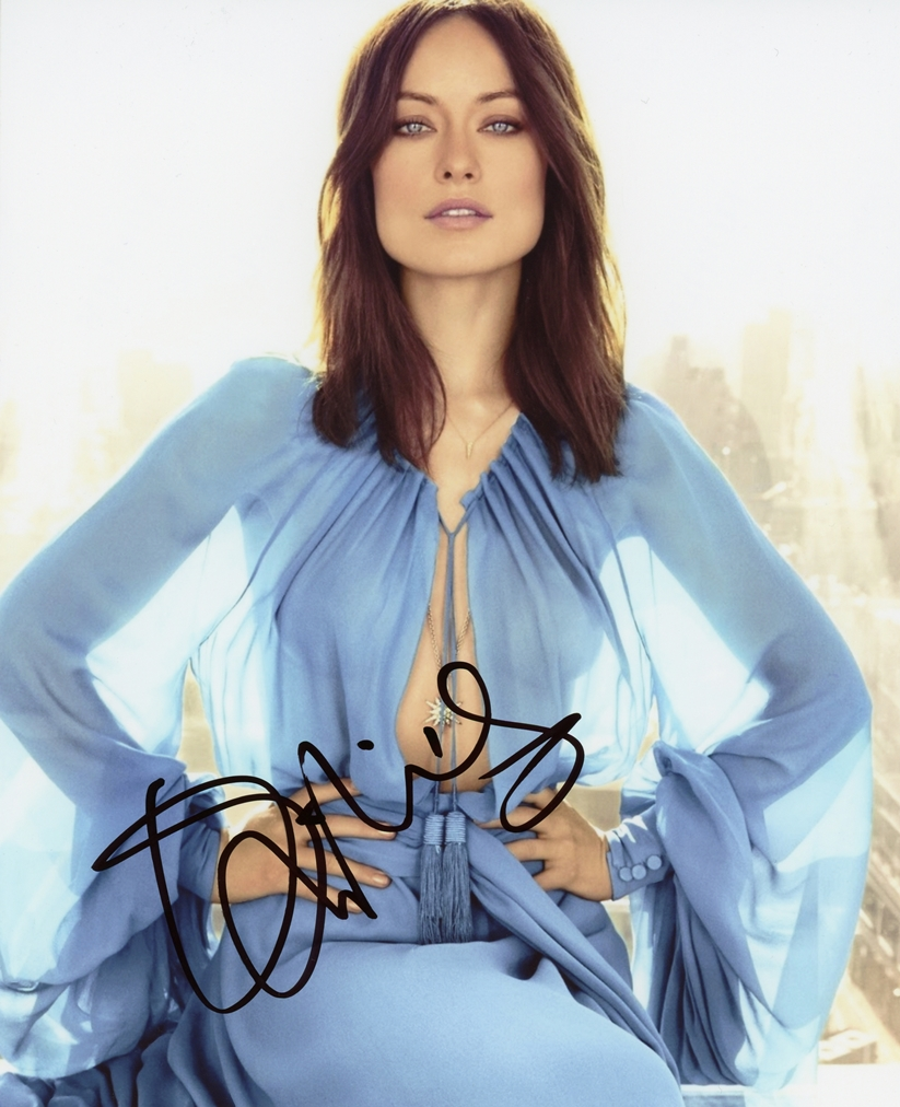 Olivia Wilde Signed Photo