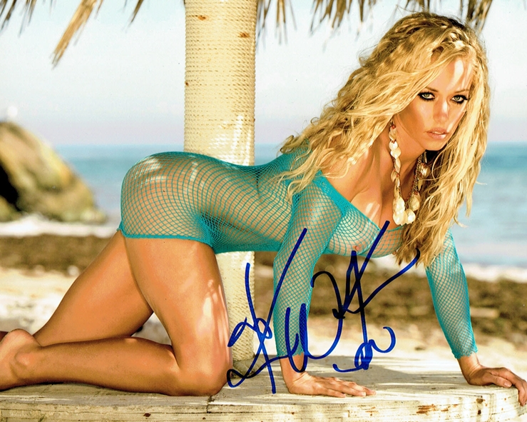 Kendra Wilkinson Signed Photo