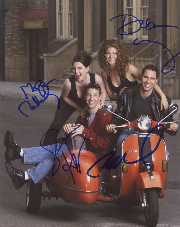 Debra Messing & Thomas Haden Church Signed Photo