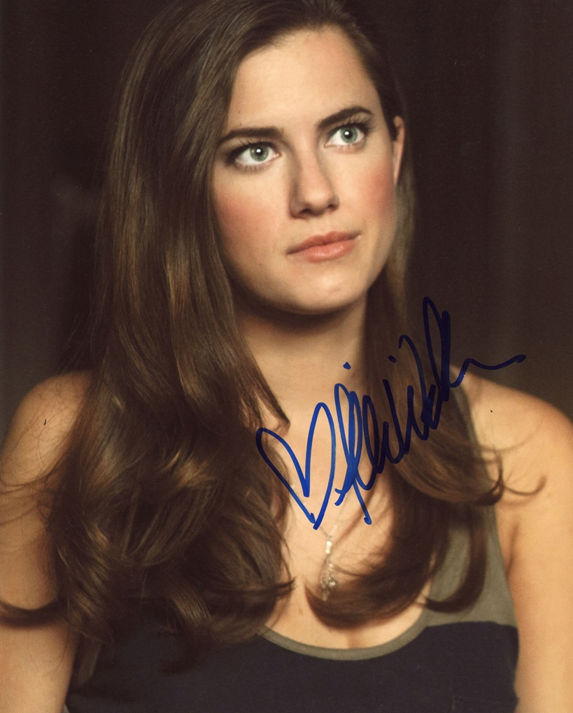 Allison Williams Signed Photo