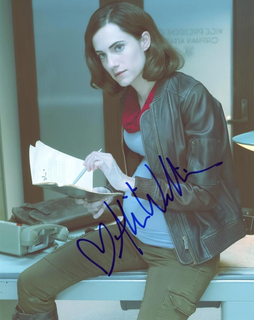 Allison Williams Signed Photo