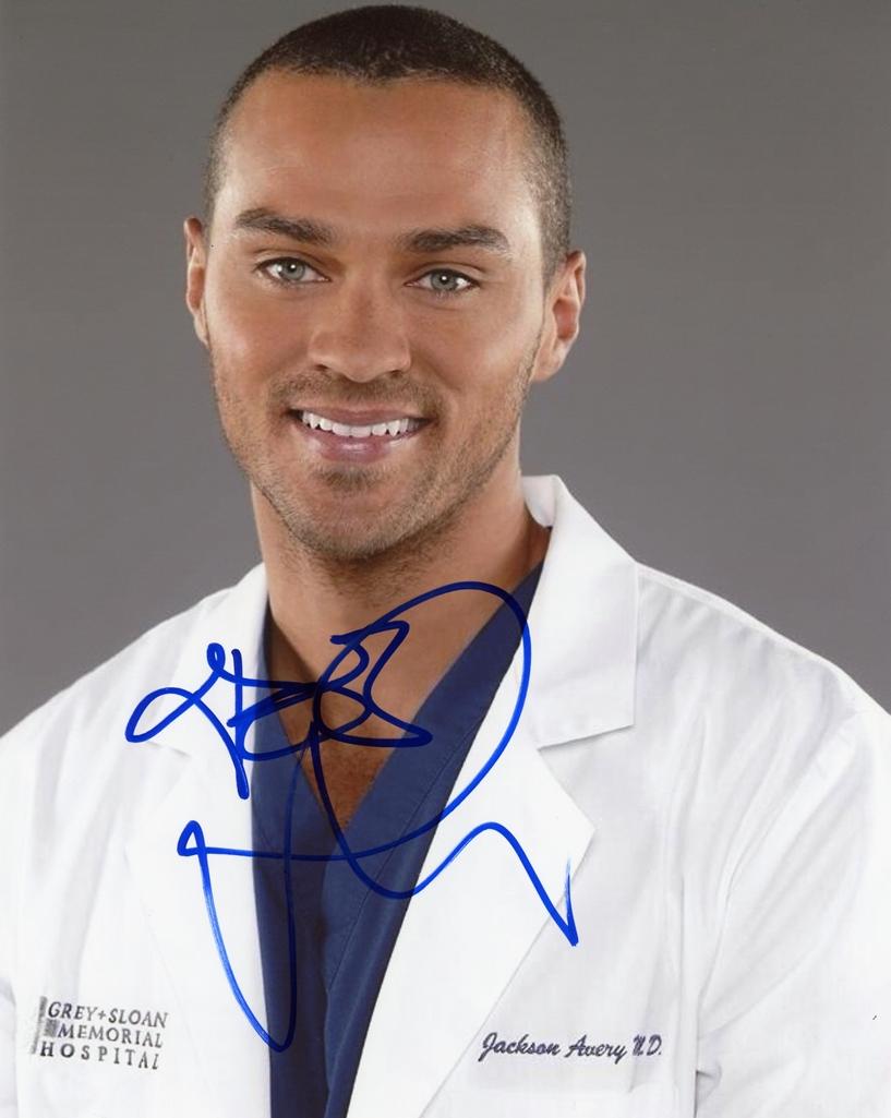 Jesse Williams Signed Photo