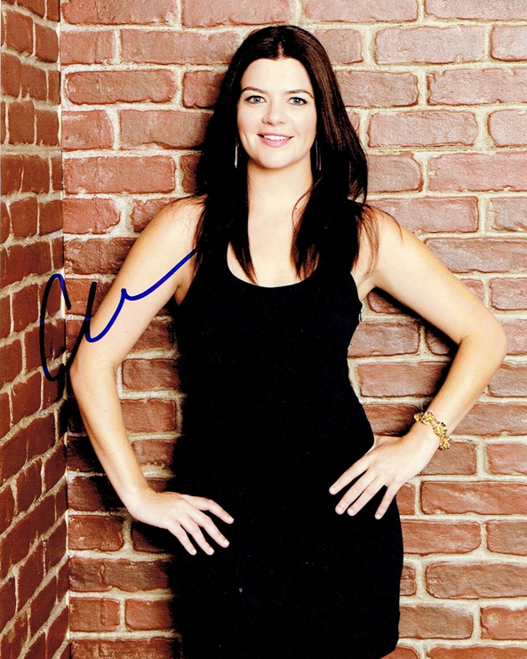 Casey Wilson Signed Photo
