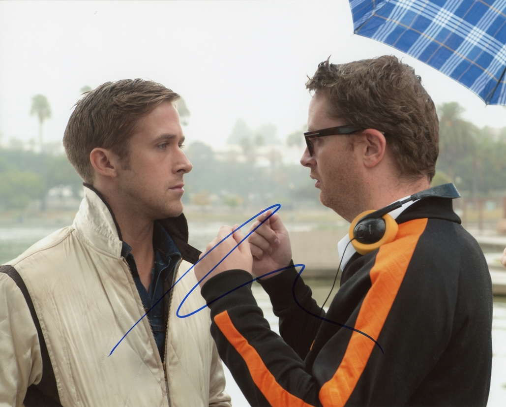 Nicolas Winding Refn Signed Photo