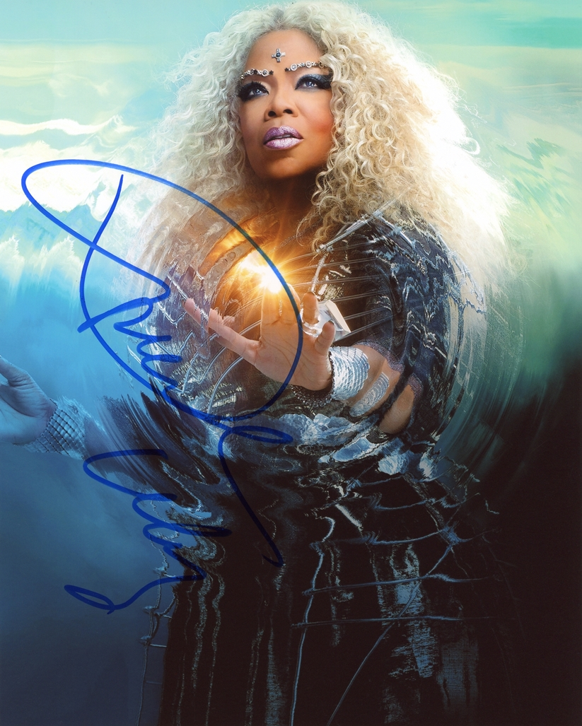 Oprah Winfrey Signed Photo