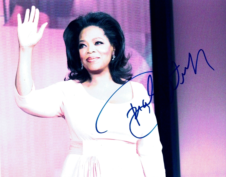 Oprah Winfrey Signed Photo