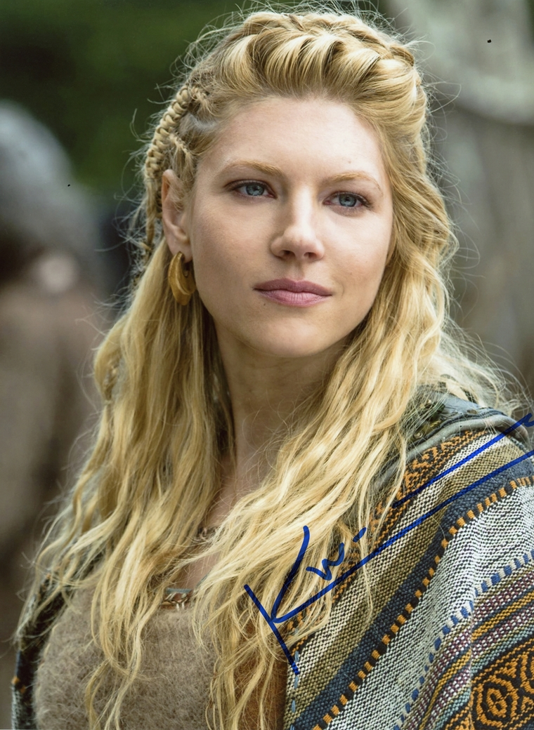 Katheryn Winnick Signed Photo