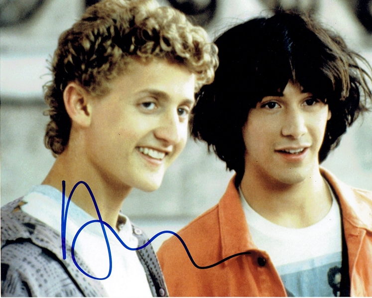 Alex Winter Signed Photo