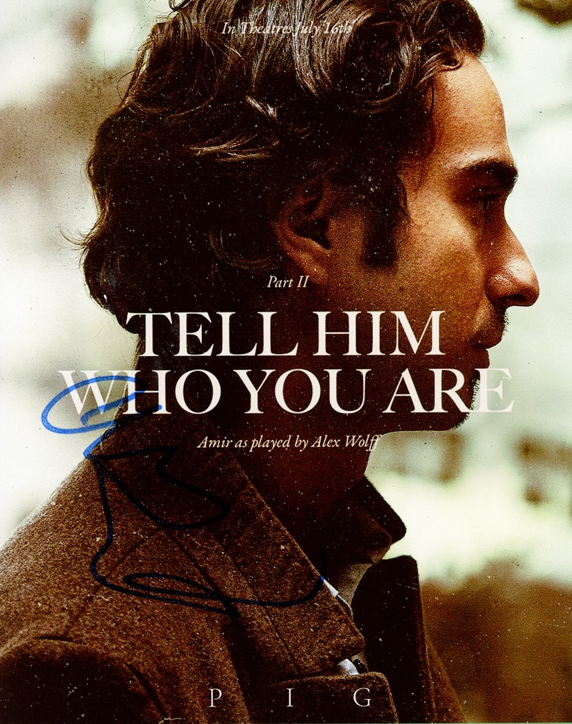 Alex Wolff Signed Photo
