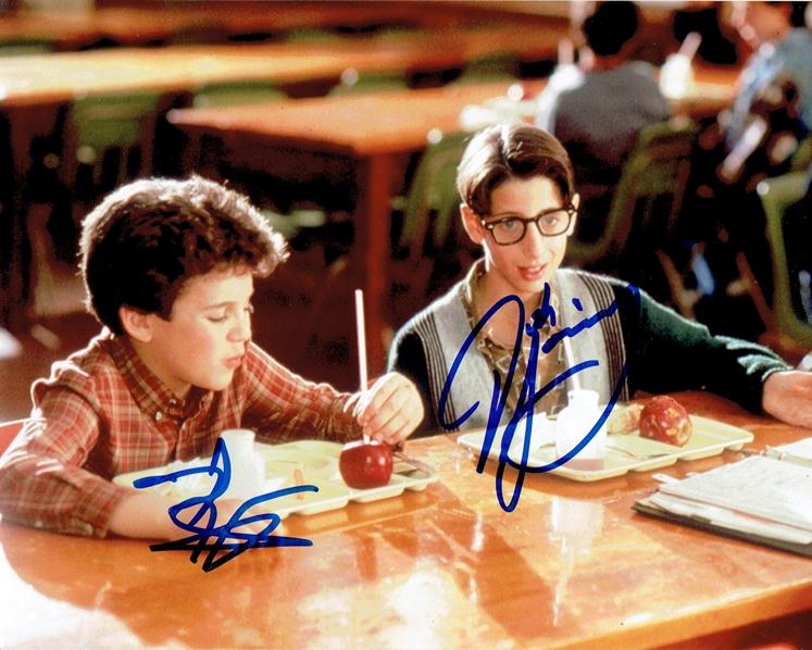 Fred Savage & Josh Saviano Signed Photo
