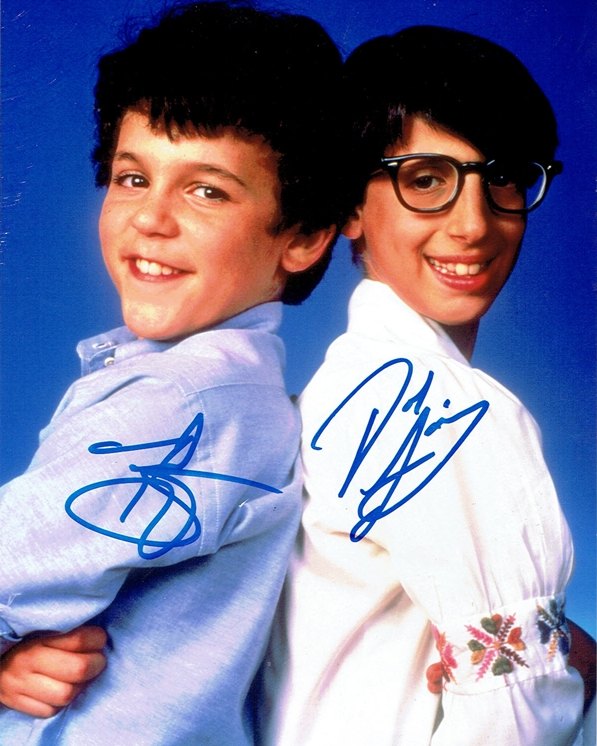 Fred Savage & Josh Saviano Signed Photo