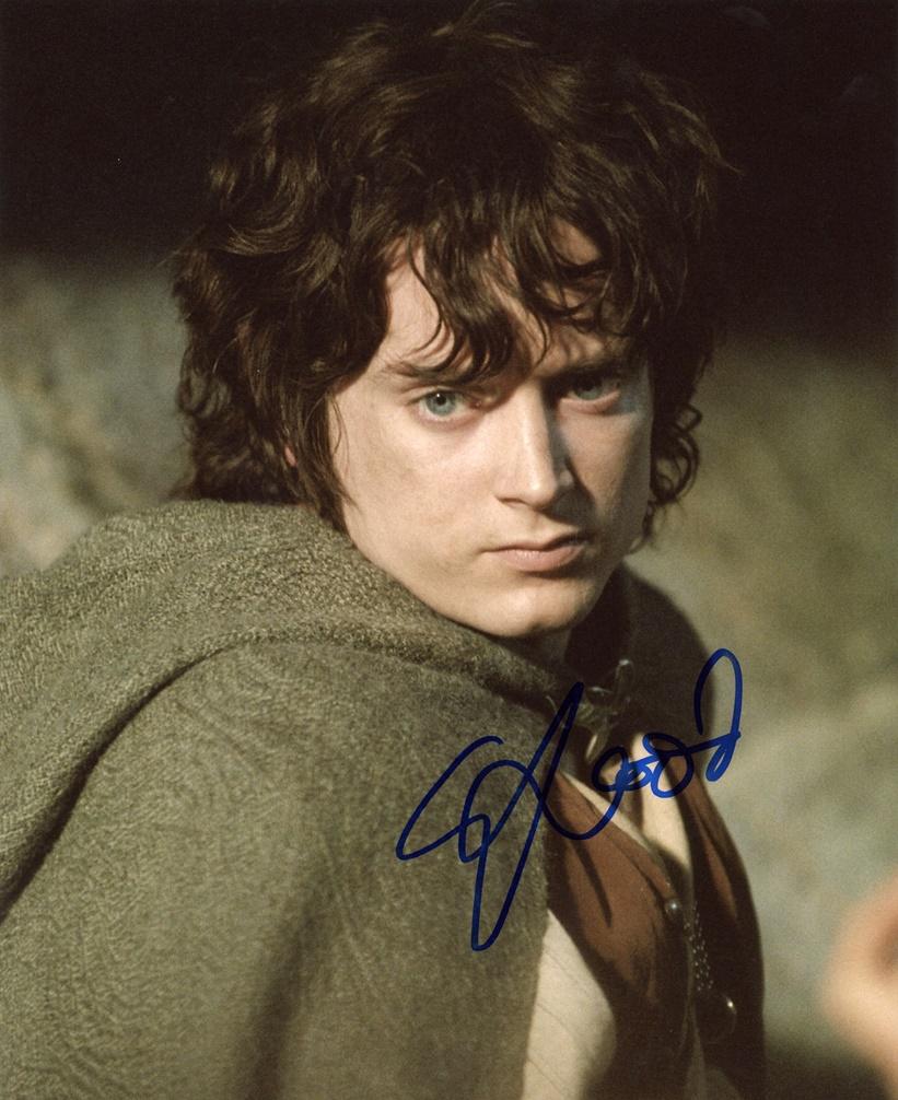 Elijah Wood Signed Photo