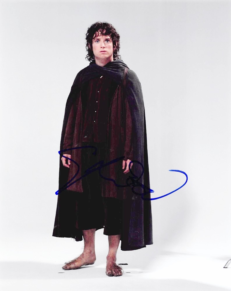 Elijah Wood Signed Photo