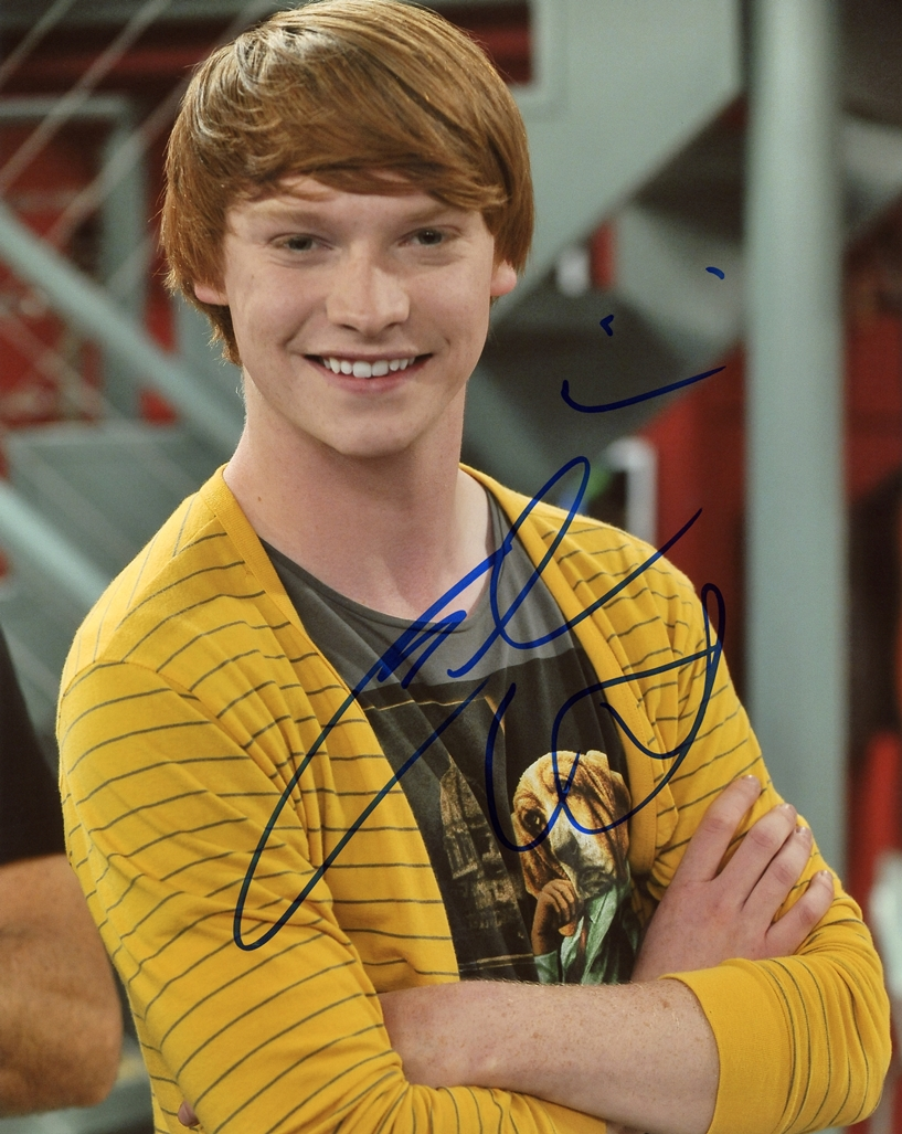 Calum Worthy Signed Photo