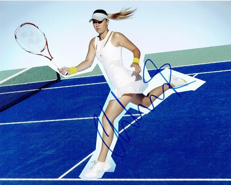 Caroline Wozniacki Signed Photo