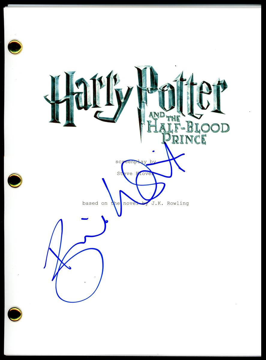 Bonnie Wright Signed Script