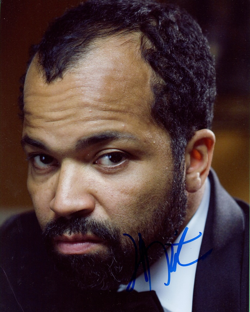 Jeffrey Wright Signed Photo