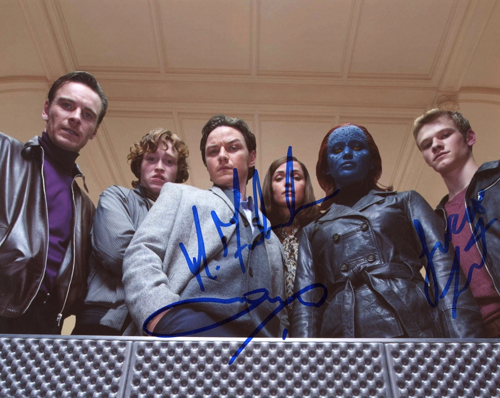 X-Men First Class Signed Photo