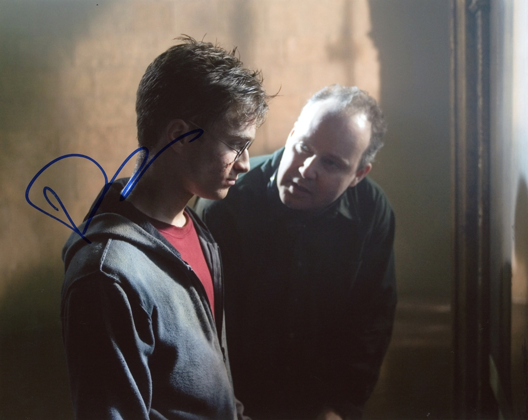 David Yates Signed Photo